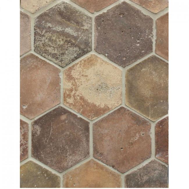 Arto 6x6 Hexagon Artillo Signature Concrete Tile - Normandy Cream