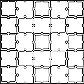 Arto Custom Artillo Arabesque 11b Concrete Tile