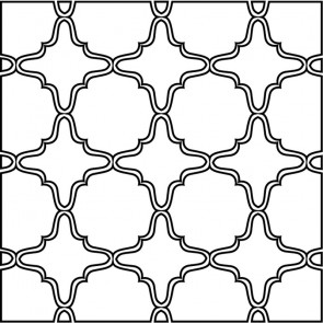 Arto Custom Artillo Arabesque 13 Concrete Tile