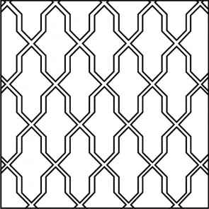 Arto Custom Artillo Arabesque 2a Concrete Tile