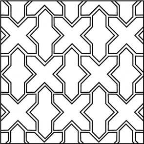 Arto Custom Artillo Arabesque 2b Concrete Tile