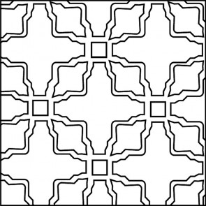 Arto Custom Artillo Arabesque 3 Concrete Tile