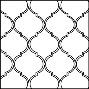 Arto Custom Artillo Arabesque 5a Concrete Tile