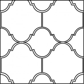 Arto Custom Artillo Arabesque 5b Concrete Tile