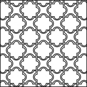 Arto Custom Artillo Arabesque 8a Concrete Tile