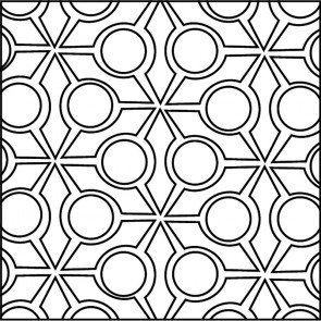 Arto Custom Artillo Arabesque 9b Concrete Tile
