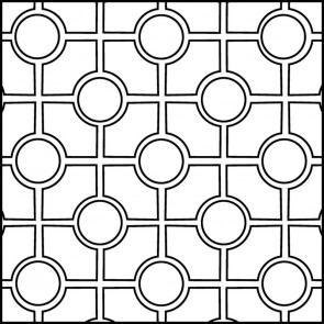 Arto Custom Artillo Arabesque 9c Concrete Tile