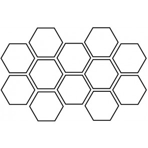 Arto Custom Artillo Hexagon & Triangle Concrete Tile