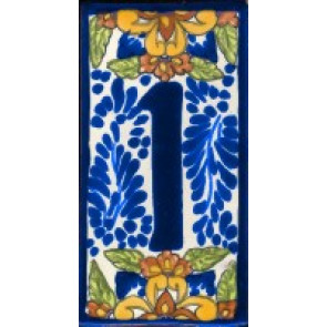 House Numbers & Frames Baroque No 1