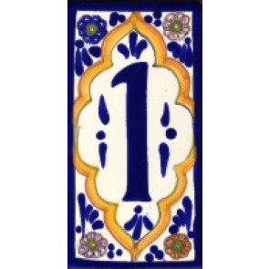House Numbers & Frames Baroque No 4