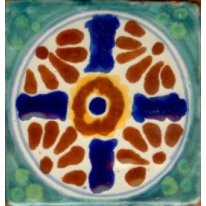 Pool Tile - Porcelain Baroque Designs 2