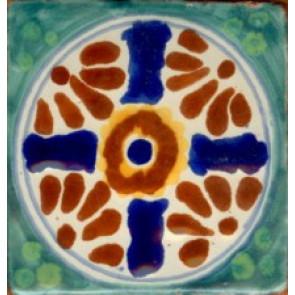Pool Tile - Porcelain Baroque Designs 2