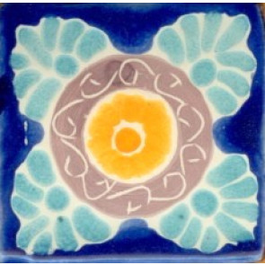Pool Tile - Porcelain Baroque Designs 3
