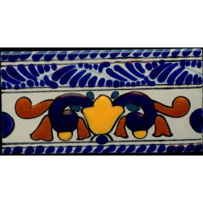 Pool Tile - Porcelain Baroque Designs 7