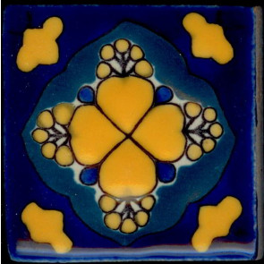 Pool Tile - Porcelain Baroque Designs 8