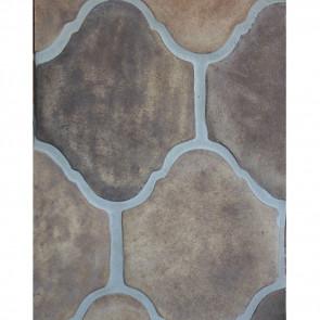 Arto 9x11 San Felipe Artillo Classic Concrete Tile - Tuscan Mustard