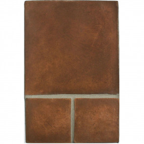 Arto 12x12 6x6 Artillo Cotto Dark Classic Concrete Tile