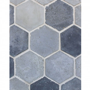 Arto 6x6 Hexagon Artillo Signature Concrete Tile - Portland Vintage