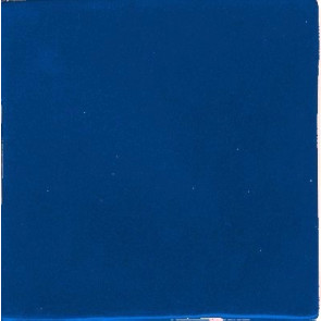 Clay Body Poblana Line, Solid Color Tile (Blue)