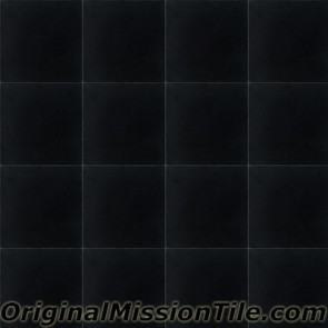 Original Mission Tile Cement S-101 Black - 8 x 8