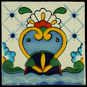 Hand Painted Tiles Casa Cisne