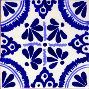 Pool Tile - Poblano Porcelain Designs Classic 14