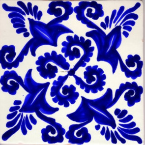 Pool Tile - Poblano Porcelain Designs Classic 17
