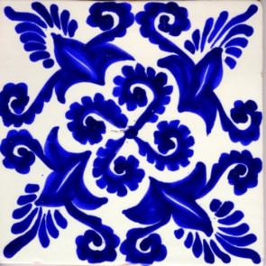 Pool Tile - Poblano Porcelain Designs Classic 17