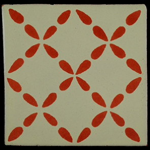 Hand Painted Tiles Casa Clover Tc