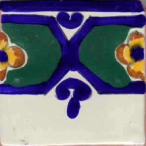 Clay Body Poblana Line, Colonial Designs No. 12