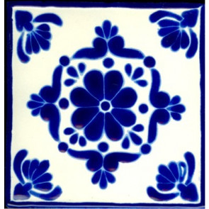 Porcelain Colonial 4, 3 3-4 x 3 3-4
