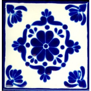 Pool Tile - Porcelain Colonial Designs 4