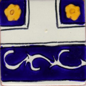 Clay Body Poblana Line, Colonial Designs No. 7