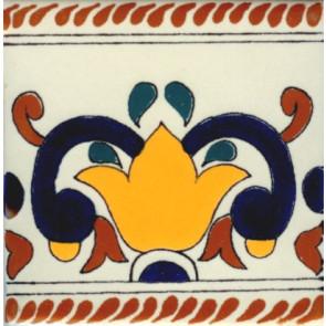 Porcelain Colonial 8, 3 3-4 x 3 3-4