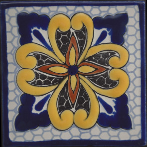 Pool Tile - Porcelain Colonial Designs 9