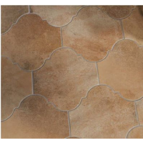 Porcelain Floor Arabesque shape