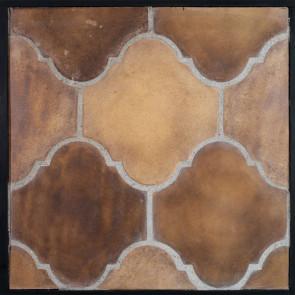 Arto 16x18 San Felipe Artillo Classic Concrete Tile - Tuscan Mustard