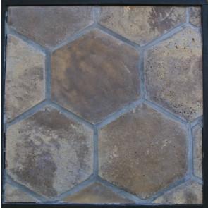 Arto 11x11 Colonial Hexagon Artillo Classic Concrete Tile - Tuscan Mustard Vintage