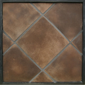 Arto 12x12 Artillo Classic Concrete Tile - Cotto Dark