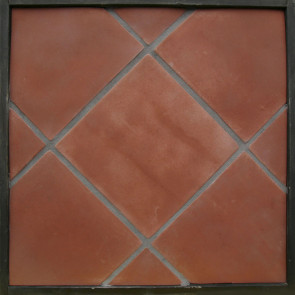 Arto 12x12 Artillo Premium Concrete Tile - Mission Red
