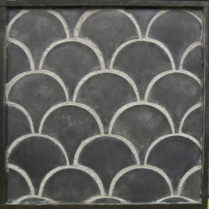 Arto 8in Conche Artillo Premium Concrete Tile - Charcoal