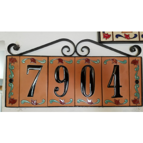 House Numbers Mexican