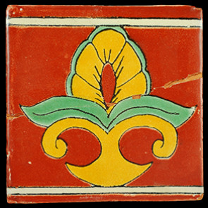 Hand Painted Tiles Casa Maize