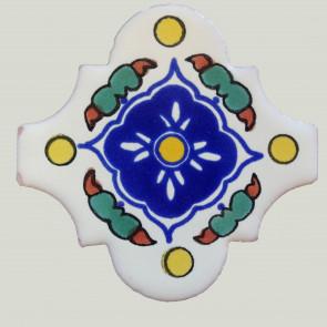 Española Guadalajara Decorative Talavera Blanco