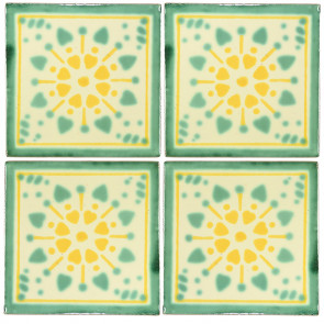 Jardin Decorative Talavera Blanco