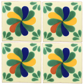 Rehilette Decorative Talavera Blanco