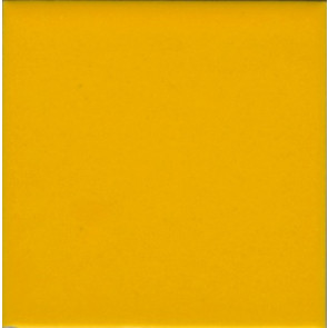 Porcelain Solid Color Yellow