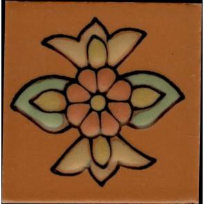 Santa Rosa Terra Cotta pattern A, 2 x 2