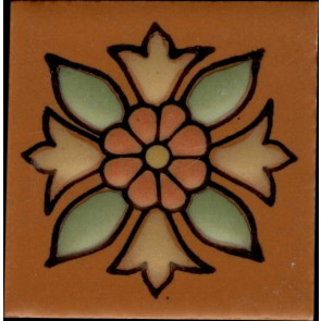 Catalina Designs (Santa Rosa, Terra Cotta Pattern B)