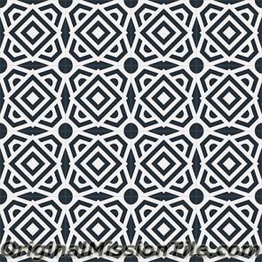 Original Mission Tile Cement Encanto Alegra 01 - 8 x 8